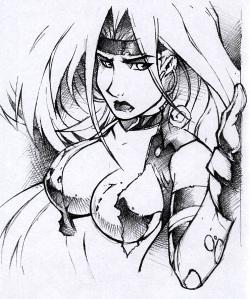 Red Monika nude Pics 2